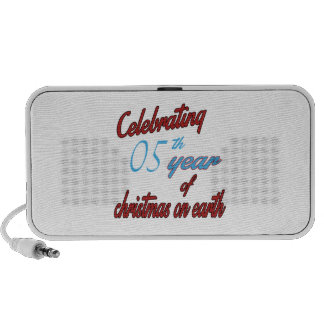 Celebrating 5th year of christmas on earth speaker system