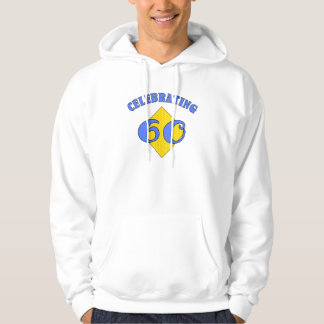 Celebrating 60 Birthday Party Hooded Pullover