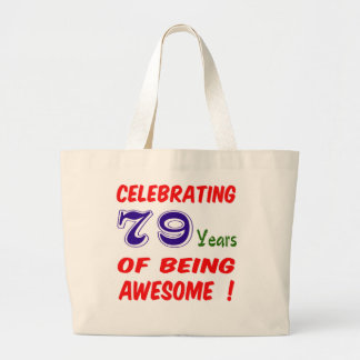 Celebrating 79 years of being awesome ! bags