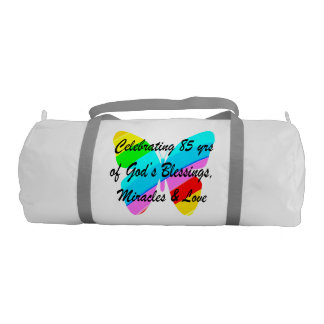 CELEBRATING 85 YRS OF GODS BLESSINGS AND LOVE GYM BAG