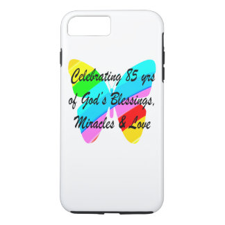 CELEBRATING 85 YRS OF GODS BLESSINGS AND LOVE iPhone 8 PLUS/7 PLUS CASE