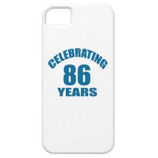 Celebrating 86 Years Birthday Designs iPhone SE/5/5s Case