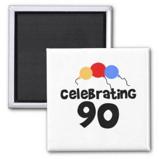 Celebrating 90 fridge magnets