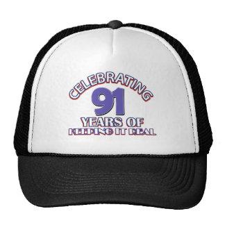 Celebrating 91 years trucker hat