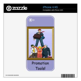 Celebrating a promotion iPhone 4 skin