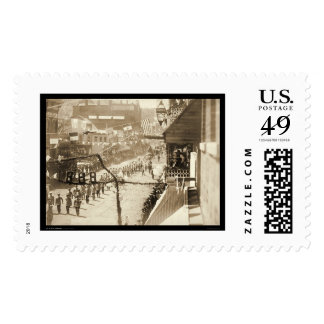 Celebrating a Stretch of Railroad Deadwood SD 1888 Postage Stamp