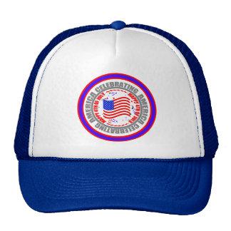 Celebrating America Happy 4th of July America Hat
