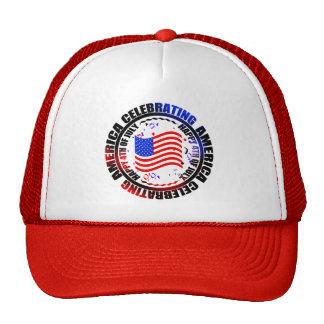 Celebrating America Happy 4th of July Hat