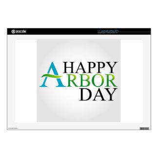 Celebrating Arbor Day Laptop Skin
