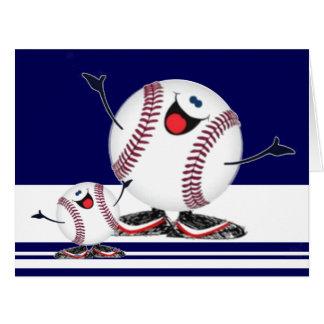Celebrating Baseballs Large Greeting Card