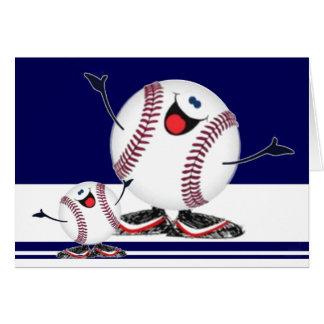 Celebrating Baseballs Greeting Card