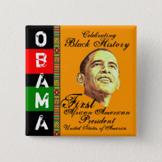 Celebrating Black History Button