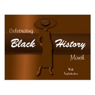 Celebrating Black History Month (Post Card) Postcard