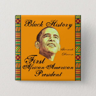 Celebrating Black History Pinback Button