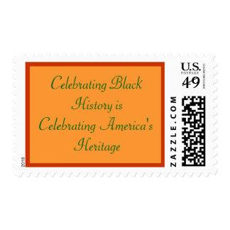 Celebrating Black History Stamps