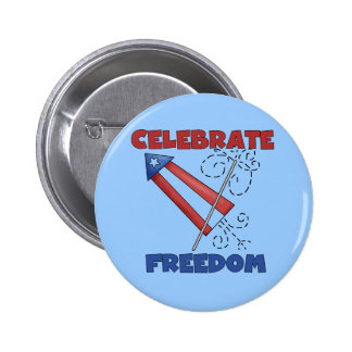 Celebrating Freedom Tshirts and Gfits Buttons