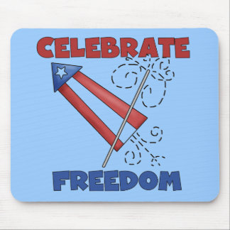 Celebrating Freedom Tshirts and Gfits Mouse Pad