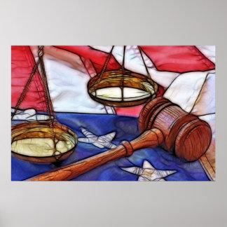 Celebrating Law Poster