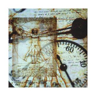 Celebrating Leonardo Da Vinci Stretched Canvas Prints