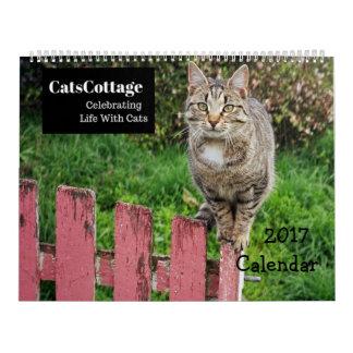 Celebrating Life With Cats 2017 Calendar