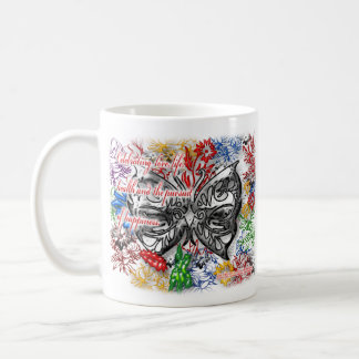 Celebrating Love Life and the Pursuit of Happiness Coffee Mug