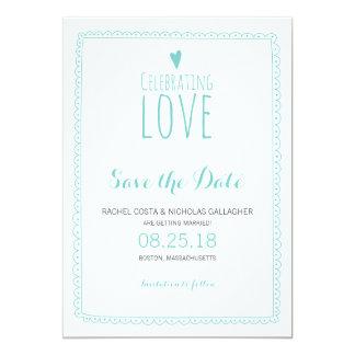 Celebrating Love   Wedding Invite