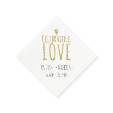 labellarue Celebrating Love | Wedding Paper Napkin