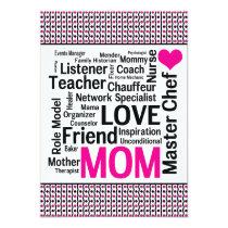 Celebrating Mom! Mother's Day or Mom's Birthday Card