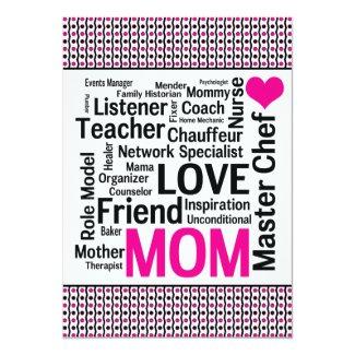 Celebrating Mom! Mother's Day or Mom's Birthday