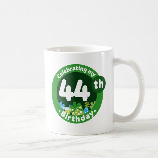 Celebrating My 44th Birthday Mug