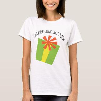 Celebrating My 70th Birthday T-Shirt