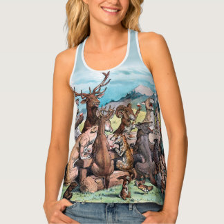 Celebrating National Parks With Teddy Roosevelt Tank Top