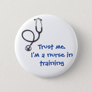 Celebrating nursing and medicine pinback button