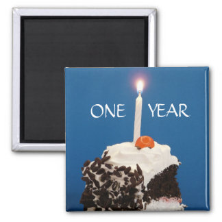 Celebrating ONE Year Magnet