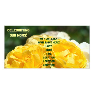 Celebrating Our Moms! Party Invitations Roses