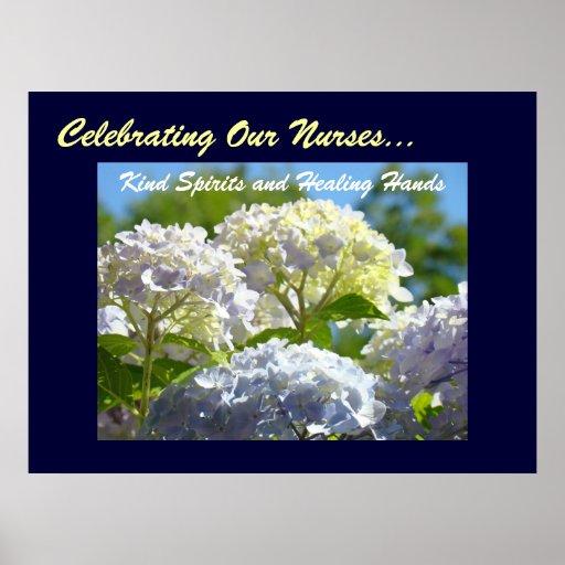 Celebrating Our Nurses Kind Spirits Healing Hands Print
