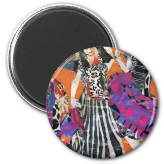 Celebrating Sisterly Love 2 Inch Round Magnet