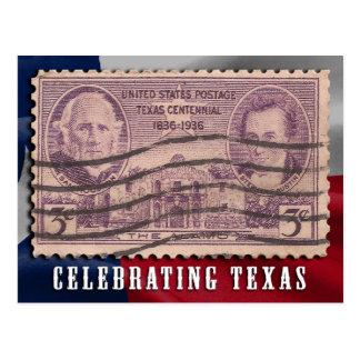 Celebrating Texas Alamo Postcard