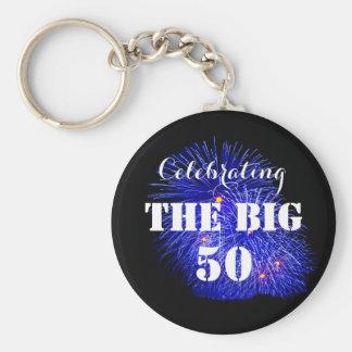Celebrating THE BIG 50 - Keychain