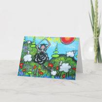 Celebrating The Black Sheep Birthday Card