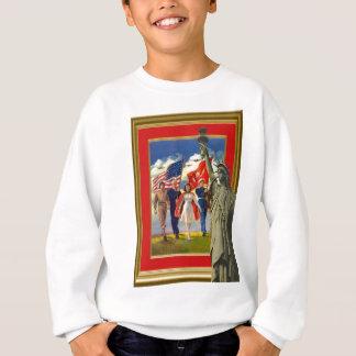 Celebrating the Fourth of July Sweatshirt