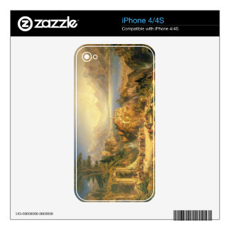 Celebrating the Grape Harvest, Lake Orta, North It Decals For The iPhone 4