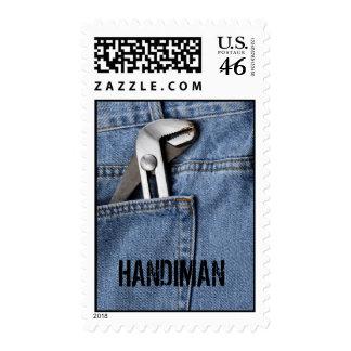 Celebrating the Handiman Postage