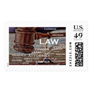 Celebrating the legal profession stamp