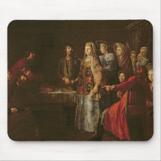 Celebrating the Wedding Agreement, 1777 Mouse Pad