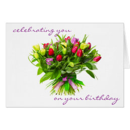 Celebrating Your Birthday and You Card