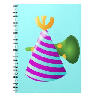 celebration-157997  celebration party anniversary spiral notebook