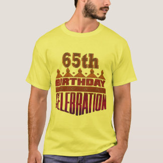 Celebration 65th Birthday Gifts T-Shirt