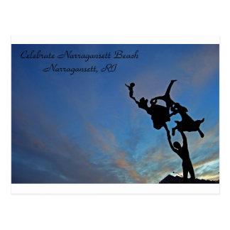 Celebration at Narragansett Beach Postcard