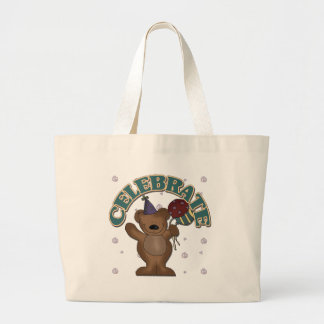 Celebration Bear Canvas Bags